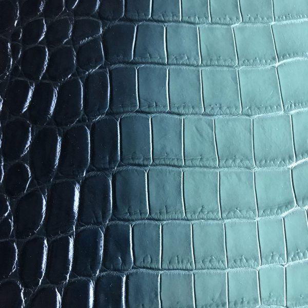"""SKU:10140 NAME:crocodile leather glace bottle ANIMAL:crocodile leather SPECIE:niloticus ARTICLE:glace COLOR:bottle USE:leathergoods, shoes, SIZE:35-39 THICKNESS:1,0/1,2 DESCRIPTION:matt, soft, dressy """