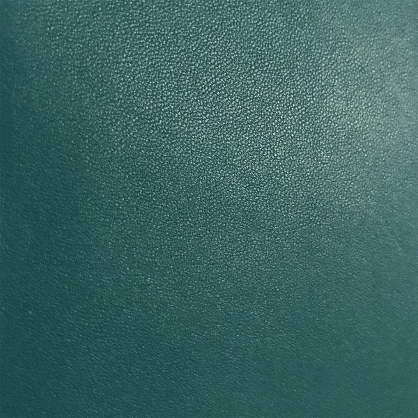 """""""SKU:10168 NAME:sheep leather nappa marine green ANIMAL:sheep leather SPECIE:crossed ARTICLE:nappa COLOR:marine green USE:leathergoods, shoes, SIZE:04-05 THICKNESS:0,8/1,0 DESCRIPTION:soft, matt """""""