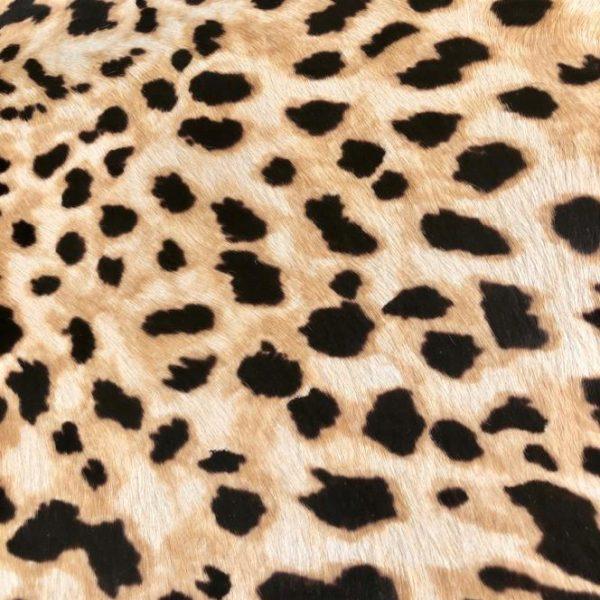 """SKU:10193 NAME:calf leather cavallino printed sahara ANIMAL:calf leather SPECIE:calf ARTICLE:cavallino printed COLOR:sahara USE:leathergoods, shoes, garment SIZE:04-05 THICKNESS:0,8/1,0 DESCRIPTION:soft, shinny, warm """