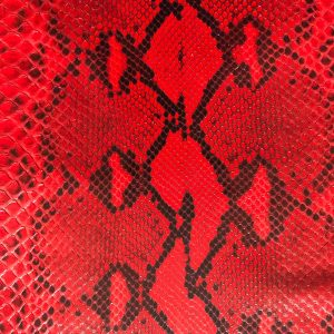 python leather diamond lux red passion