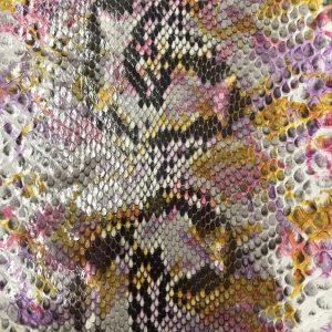 """SKU:69 NAME:python leather zante sottobosco ANIMAL:python leather SPECIE:reticulatus ARTICLE:zante COLOR:sottobosco USE:leathergoods, shoes, garment SIZE:27+; 30+; 35+ THICKNESS:0,4/0,6 DESCRIPTION:soft, shinny """