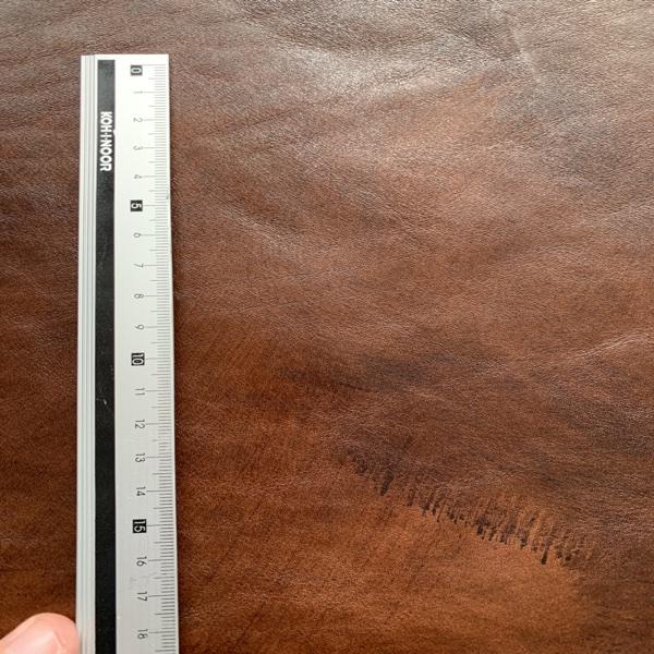 calf leather Anticato dark brown