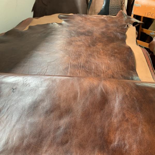 309 calf leather Anticato dark brown